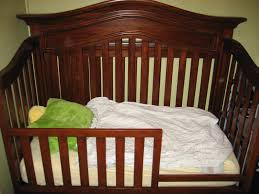 How To Convert A Crib To Toddler Bed The Presson Family Converted Crib To Toddler Bed