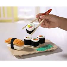 cuisine haba haba biofino sushi fabric play food toyjeanius