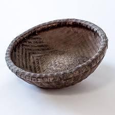 Country Baskets Vintage Small Round Handmade Country Basket Yx0608060ba U2013 Wu U0026 Mchugh