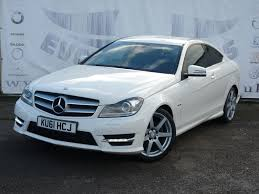 Used Mercedes C Class C180 Blueefficiency Amg Sport Sat Nav