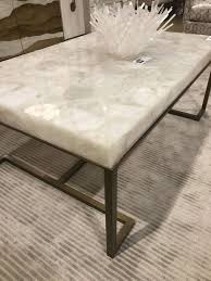 gold drum coffee table photo gallery of marble and glass coffee table showing 10 of 20 photos