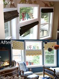 No Sew Roman Shades How To Make - how to recover roman shades no sew at the top roman shades and