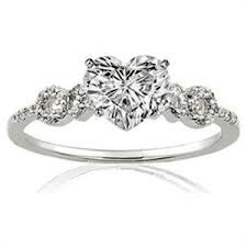 heart shaped wedding rings heart shaped diamond engagement rings