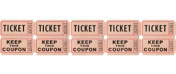 retro vintage tickets and coupons stock photo image 43086154