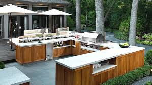 Outside Kitchens Designs Outside Kitchens Pictures How To Create A Deluxe Outdoor Kitchen