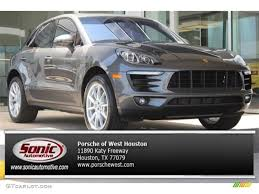 porsche macan grey 2016 agate grey metallic porsche macan s 106050094 photo 6