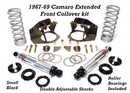 1967 camaro kit camaro extended travel coilover kit 1967 1968 and 1969 global