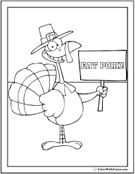 valuable ideas funny thanksgiving coloring pages funny turkey