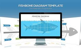 fishbone diagram powerpoint template presentation templates