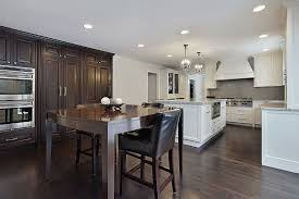 grey kitchen cabinets with brown wood floors 37 inspiring kitchen ideas with floors homenish