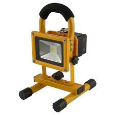 10w rechargeable flood light 10w led portable rechargeable led floodlight with usb cef