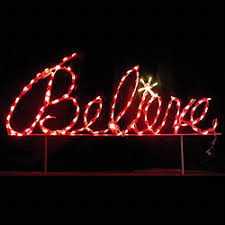 led outdoor decorations lighted signs