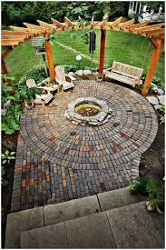 Brick Pavers Pictures by Backyards Chic Backyard Brick Paver Patio With Pond 137 Outdoor