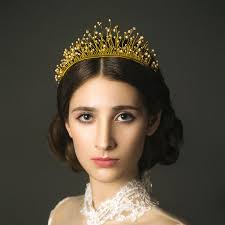 bridal crowns gold bridal crown handcrafted twisted wire headband tiara