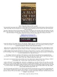 A Map Of The World Book by