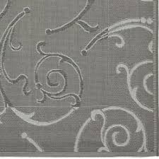 Area Rugs Gray Safavieh Indoor Outdoor Gray Light Grey Area Rug 8 X 11 2