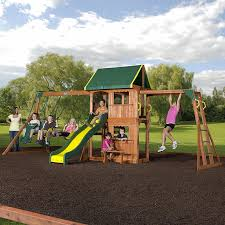 Backyard Discovery Winchester Playhouse Swing Sets Playsets Sears