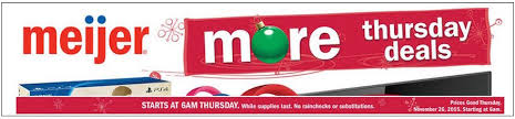 meijer black friday thanksgiving and saturday ads posted for 2015