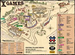 Austin Texas Map by X Games Austin 2015 Survival Guide Craveonline