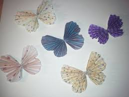 how to make an accordion fold butterfly embellishment youtube