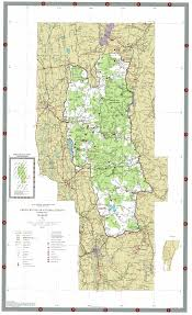 National Map Map Green Mountain National Forest North U2013 Andy Arthur Org