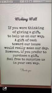 Wedding Gift Money Poem Wedding Gift Etiquette Asking For Cash Lading For