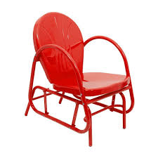 Red Metal Chair Ideas For Retro Metal Chairs Design 13263