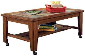 Coffee Tables With Wheels Toscana Coffee Table Ashley Furniture Homestore