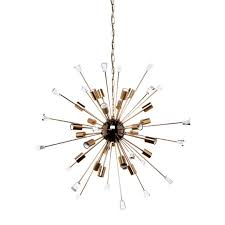 Sputnik Ceiling Light Brass Sputnik Pendant Light Modern Mid Century Lighting