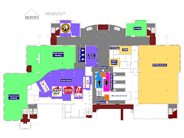 student center uca first floor plan