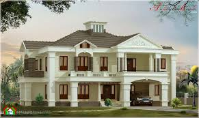 3500 sq ft house plans 3500 square feet contemporary style house architecture kerala