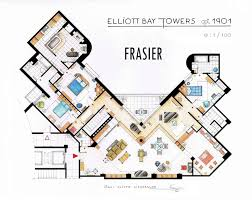 my floor plan detailed floor plan drawings of popular tv and homes