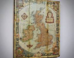 Map Home Decor British Isles Map Etsy