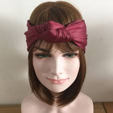 leather headband made women imitation leather headband girl style bow