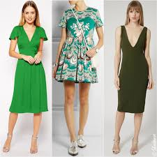 best color shoes to wear with green dress
