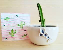 classic cactus ring holder images Cactus pottery etsy jpg