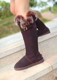 ugg australia s the knee 2013 ugg knee high fox fur boots ugg knee high boots fox