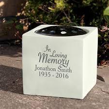 personalised in loving memory memorial vase memorials funeral