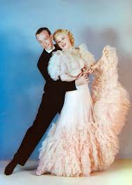 fred and ginger publicity still for