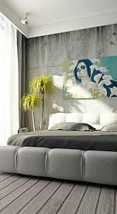 Schlafzimmer Dunkle M El Wandfarbe Wandgestaltung In Betonoptik Für Ein Trendiges Und Stilvolles