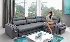 canapé d angle coffre de rangement canapé d angle ultra design multifonction convertible lit coffre de