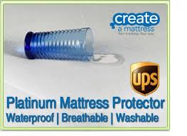 european queen 160x200cm waterproof mattress pad 63x78