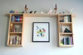 Bookshelf Wall Mounted Bookcase Wall Mounted Tv Shelves White Wall Hung Bookcase Wall