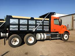 used volvo tractor trailers tandem tractor to dump truck conversion warren truck u0026 trailer inc