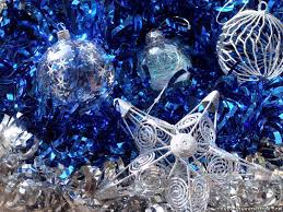 Silver And Blue Christmas Decorations Picture by Crazy Frankenstein Christmas Decorations Wallpapers