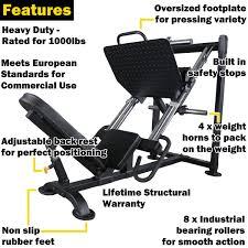 powertec leg press p lp16 heavy duty super smooth sam u0027s fitness