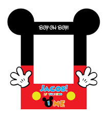 mickey mouse photo booth frame printable mickey mouse photo