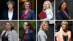Latest Cabinet Ministers Theresa May Fills 30 Of Her Cabinet Positions With Women Fortune