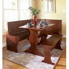 3 Pc Kitchen Table Sets by Benzara Slingsbury Industrial 3 Pc Dining Table Set Ebay