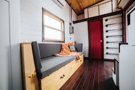 a high end tiny home built by wind river tiny homes in tennessee
